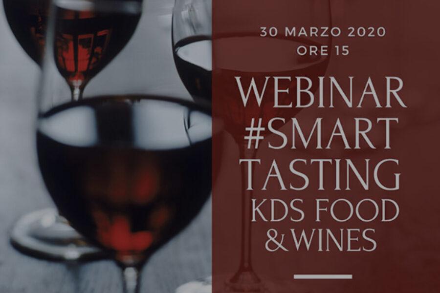 Webinar Smart Tasting KDS Food&Wines