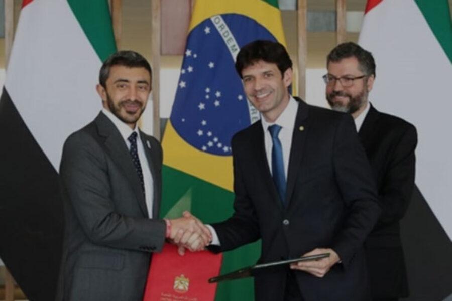 Brasile ed Emirati Arabi firmano accordi