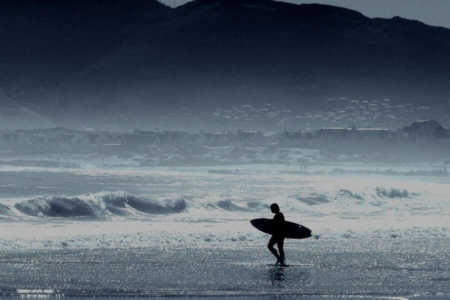 Storia di un surfista a testa in giù